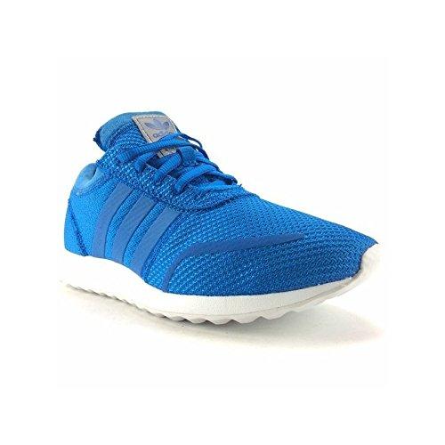 adidas - Los Angeles J - S80172 - Couleur: Bleu-Blanc - Pointure: 37.3