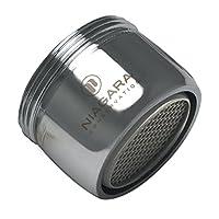 Niagara Conservation N3210B-PC-T Dual Thread 1.0 GPM Bubble Water-Saving Aerator (6 Pack), Chrome, Standard