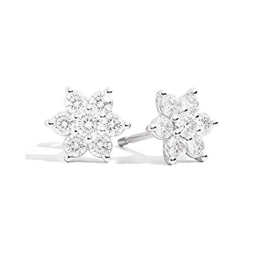 Recarlo Orecchini Fantasia con Diamanti Bouquet