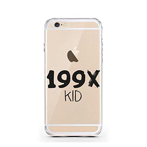 iPhone 7 Hülle von licaso® für das Apple iPhone 7 aus TPU Silikon SW Stern Star Krieg Wars Muster ultra-dünn schützt Dein iPhone 7 & ist stylisch Schutzhülle Bumper in einem (iPhone 7, SW) 199X KID