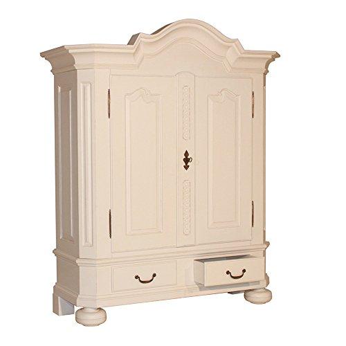 Garderobenschrank Barock Schrank Landhausmöbel