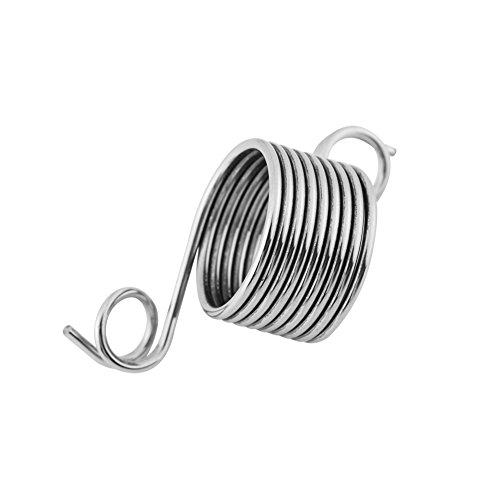 1 Stück Strick Fingerring, Edelstahl Finger Fingerhut Garn Stricken Guide Ring 19mm Schützen Finger Handarbeit DIY Handwerk Nähen Werkzeug