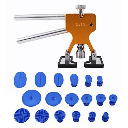 Qiilu Kit herramientas reparación abolladuras Coche