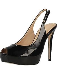 Amazon Sandalias De Para Zapatos es Mujer Vestir Guess W1ca6Hf1