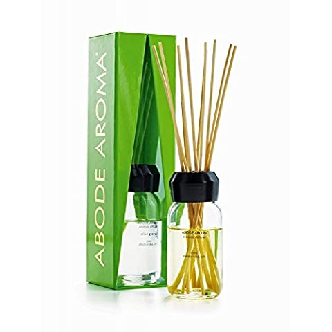 Olive Grove Reed Diffuser - NEON by ABODE AROMA - 90% fragrance oil, lasts on average 4 MONTHS by Abode Aroma @ WOWOOO