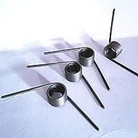 NJ-SPRING, 10PCS del resorte del metal de acero muelle en espiral muelle de torsión, 1,4 mm Diámetro de alambre * 12 mm * Diámetro de salida (35-50) longitud de las piernas ( tamaño : 1.4x12x35mm )