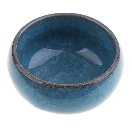 MagiDeal Mini Keramikschüssel, Gewürze Schüssel für Sauce Essig - Blau