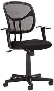AmazonBasics Mid Back Mesh Chair (Black)