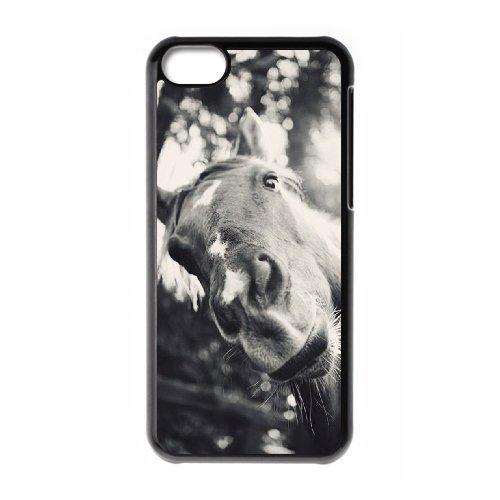 Horse iPhone 5C Phone case, DIY Cover case for iPhone 5C Horse, DIY Horse Cell Phone case