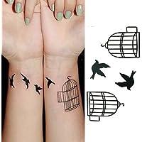 alallti corpo Tattoo Pasta impermeabile tatuaggio temporaneo Adesivi All' ingrosso per uomini e donne, 3pezzi