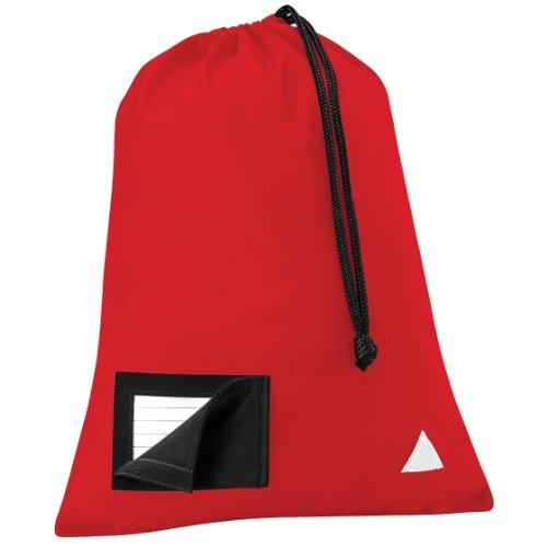 Quadra Junior Schuh Tasche mit Reflektor - 6 Liter Helles Royalblau