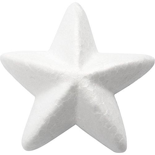 Stern, B: 11 cm, Styropor, 25 Stck.