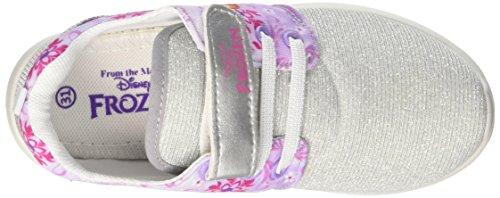 Walt Disney Jungen S17454iaz Niedrige Sneaker Silber / Schwarz