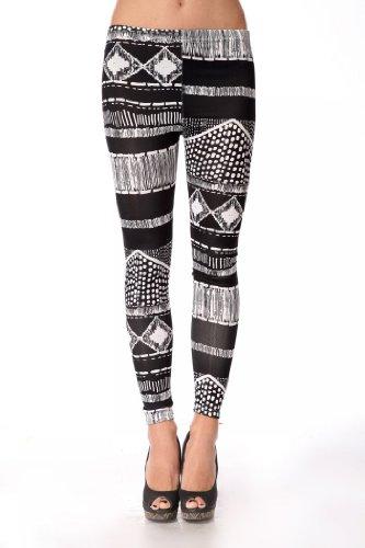 Cosmic Tie Dye Graphic dehnbar Strumpfhosen Leggings Pants Gr. One size , Pattern2 (Tie Dye Strumpfhose)