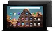 FireHD10-Tablet│10,1Zoll großes FullHD-Display (1080p), 32 GB, Schwarz, Mit Werbung (vorherige Generation