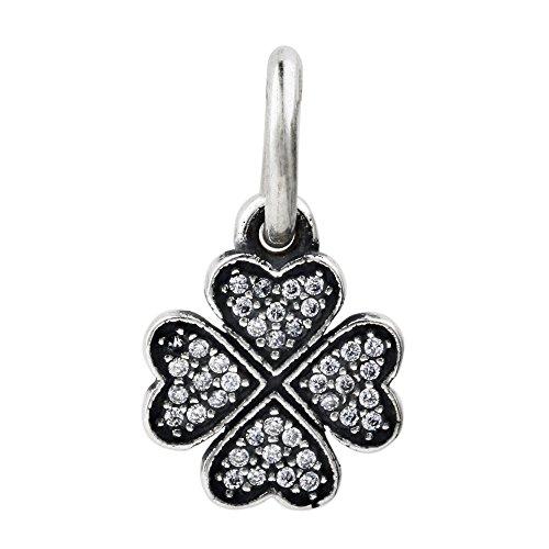 TAOTAOHAS Antico S925 Argento Sterlina Amare Pendente Beads Perline [Erba Fortunata]