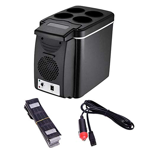 6-Liter-Leichtbau-Kühlbox mit doppeltem Verwendungszweck, Auto-Minikühlschrank mit umweltfreundlicher, geräuscharmer, leichter und energiesparender Funktion
