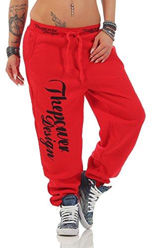 Boxusa -  Pantaloni sportivi  - Donna Thepower Rot