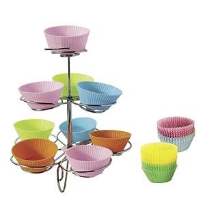 speel Goed ch31005-Cocina de Juguete-Set Cupcake árbol