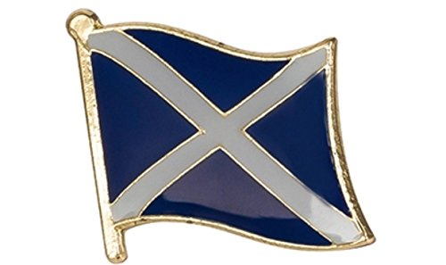Scottish Saltire Flagge Emaille Pin Badge (Flagge Scottish Saltire)