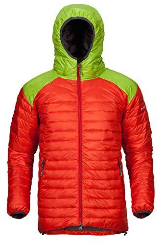 Preisvergleich Produktbild Milo Steppjacke Tuga Unisex orange / grün XL