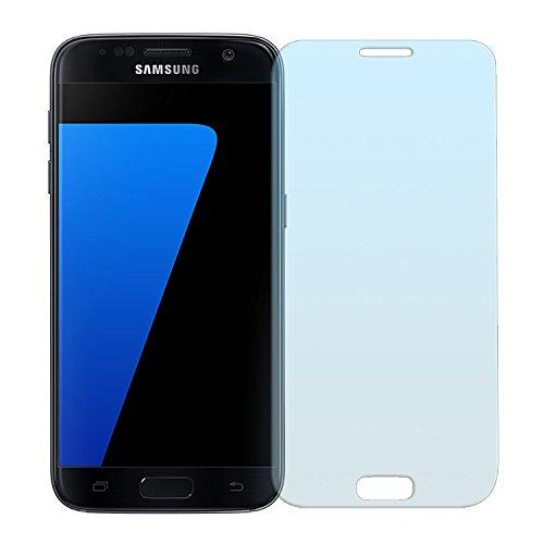 Cristal Templado Protector de Pantalla Para Samsung Galaxy S7 (Full Screen)- NEVEQ® Vidrio Templado, el Samsung Galaxy S7 Full Screen (5.1) Pulgadas de Pantalla con Garantía de por Vida, piel Protectora de la Cubierta de 9H de Dureza.