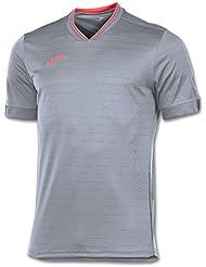 Joma Torneo - Camiseta para hombre, color gris, talla L