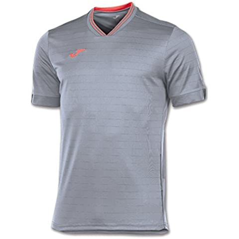 Joma Torneo - Camiseta para hombre, color gris, talla S