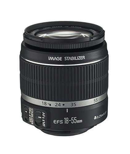 Canon EF-S 18–55 mm f/3.5–5.6 IS II SLR Objektiv (2042b002)