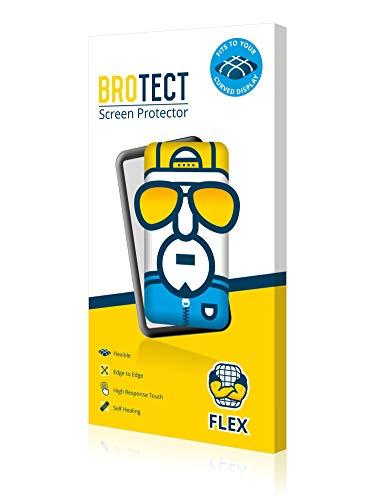 BROTECT. 2X Flex FullCover Bildschirmschutzfolie passend zu Polar V800 (Self-Healing, perfektes Touchgefühl, kristallklar, konturgenau)