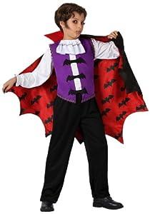 Atosa - Disfraz de vampiro para niño, talla 3-4 años (14990)