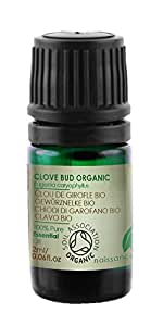 Naissance Olio di Chiodo di Garofano Biologico - Olio Essenziale Puro al 100% - 2ml