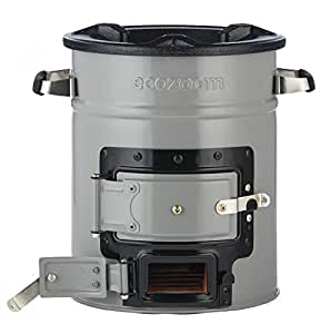 EcoZoom Zoom Versa Ofen fürHolz, Biomasse oder Holzkohle