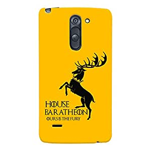 ColourCrust LG G3 Stylus / Optimus G3 Stylus Mobile Phone Back Cover With Game Of Thrones - Durable Matte Finish Hard Plastic Slim Case