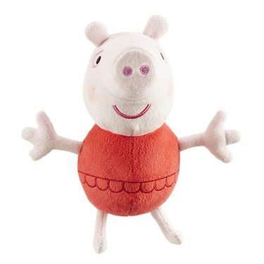 Peppa Pig Holiday Time 7 inch Peppa In swimsuit soft stuffed toy