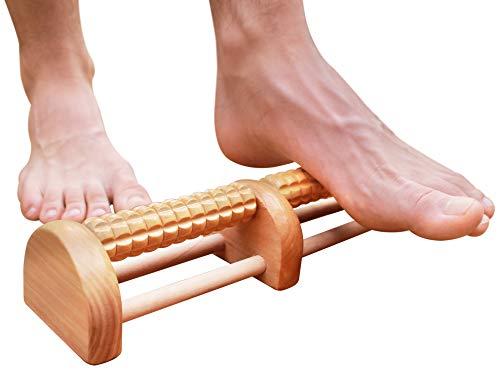 Piede massaggio 2018 Generation raccomandato dai professionisti per fascite plantare piedi efficace sollievo dal dolore a great Portable Home in legno massaggiatore palla bastone che massaggia