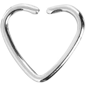 tress e coeur fermeture daith cartilage tragus boucle d 39 oreille bijoux. Black Bedroom Furniture Sets. Home Design Ideas