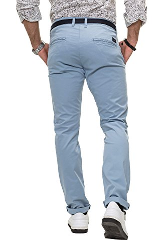 Selected Herren Chino Hose Chinos Business Casual Dusty Blue