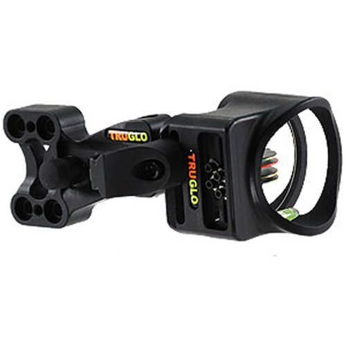 TRUGLO Carbon XS 4 Pin nero Archery Sight