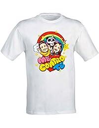 T-Shirt Maglietta Maglia Me Contro Te Ragazzi 100% Poliestere Lavabile in Lavatrice