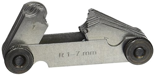 Vogel Radienschablone 17 Blatt, 1,0-7,0 mm, 472105.0