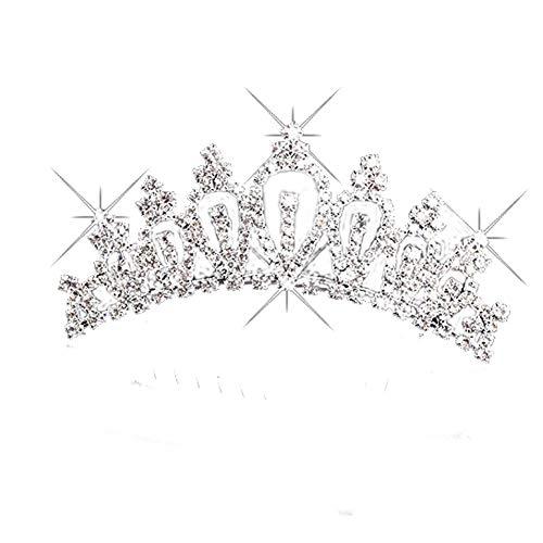 Cosanter Einer zum Verkauf Prinzessin Krone Persönlichkeit Stirnbänder Haar Zusätze Mädchen Prinzessin Geschenk ()