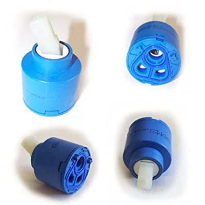 40mm Ceramic Disc Cartridge Valve For Single Lever Monobloc Bathroom Or Kitchen Mixer Taps - Tap Replacement Spares - cheap UK bar stool store.
