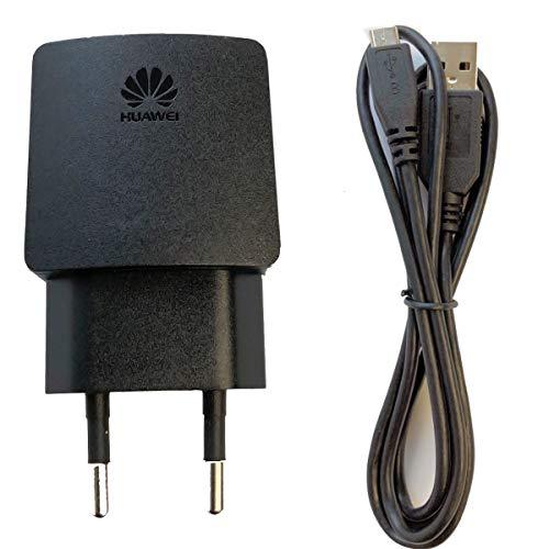 Huawei USB Netzadapter Ladegerät HW-050100E2W Schwarz 1A (HW-050100E2W)