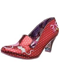 e780e2dba39 Irregular Choice Women s s Fuzzy Peg Closed Toe Heels