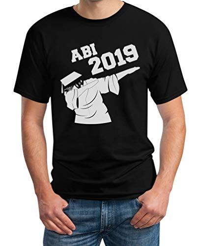 Geschenk zum Abitur - Dab, Dabbing Abschluss 2019 Herren T-Shirt Medium Schwarz