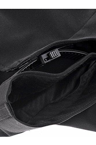 JP 1880 Herren große Größen bis 70 | Anzughose | Büro-Hose in schwarz | Bundfaltenhose mit verstellbaren Bund | Schnurrwoll-Qualität | Knitterfrei & Pflegeleicht | 705516 Schwarz