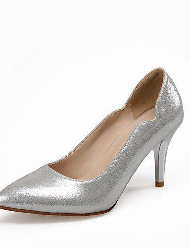 ShangYi Damenschuhe - High Heels - Hochzeit / Kleid - Kunstleder - Stöckelabsatz - Absätze / Spitzschuh - Blau / Silber / Gold / Koralle , golden-us8.5 / eu39 / uk6.5 / cn40 , golden-us8.5 / eu39 / uk6.5 / cn40 Korallen-heels Und Pumps
