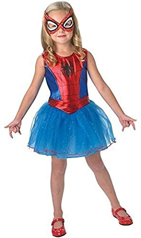 Fancy Me - Déguisement fille Licence Officielle Spidergirl Spiderman Costume