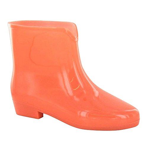 Spot On Womens/Ladies Pastel Glow in The Dark Ankle Wellies